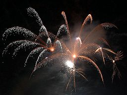 New Year's in Village. Photo by Jon Sullivan via Wikimedia Commons (public domain)