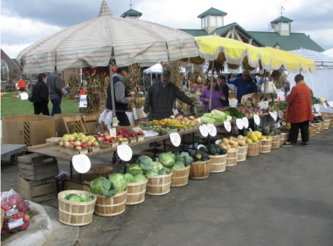 Farmers & Artisans market at Farmington Michigan