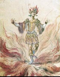 Jesuit ballet character Fire