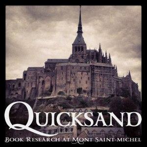 Instagram-Mont-St-Michel-Quicksand-text-Gigi-Pandian